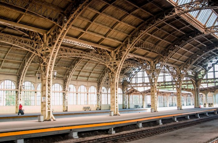 Vitebsky railway station. Tour with a visit to the attic and grand-ducal rooms
